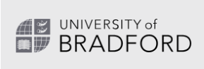 CPD Online - Leap Like A Salmon's Online CPD Hub is used by University of Bradford. This image is the logo for University of Bradford.
