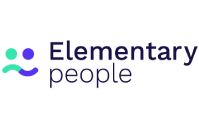 CPD Online - Leap Like A Salmon's Online CPD Hub is used by Elementary People. This image is the logo for Elementary People.